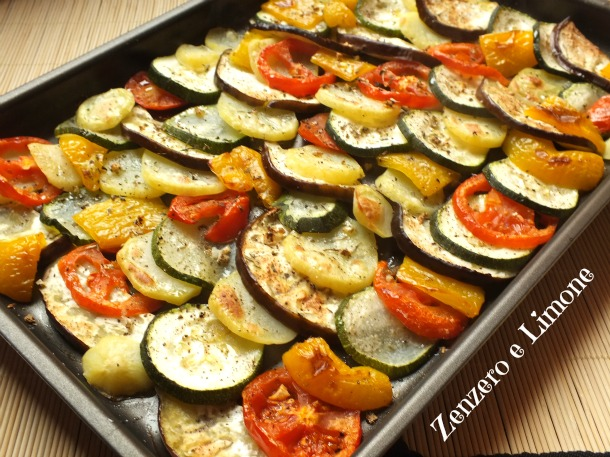 Mix di verdure al forno (Video ricetta)