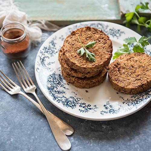 Hamburger di lenticchie alla paprika o con verdure: Ricetta