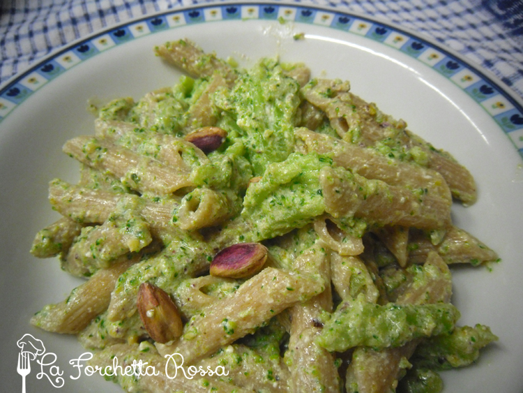 Pasta integrale con i broccoli