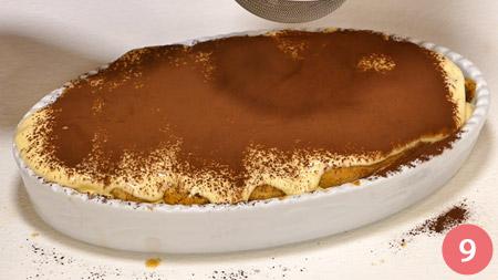 Tiramisù light e veloce: La ricetta con solo 220 Kcal a porzione!