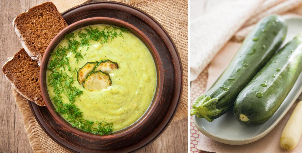 La cremosa di zucchine, un piatto gustoso, dietetico e ricco di nutrienti con sole 110 calorie!