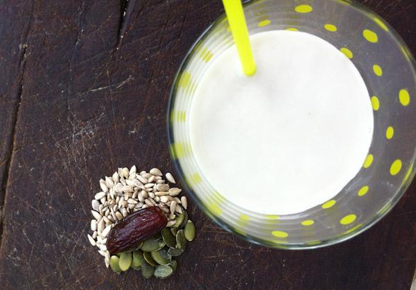semi di girasole latte