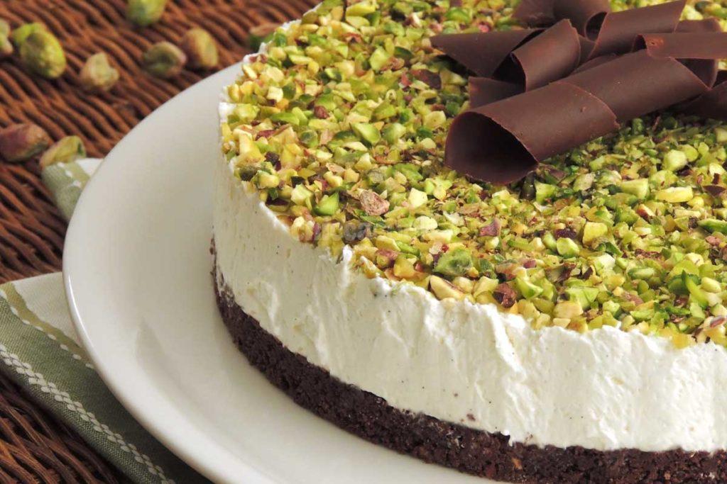 Cheesecake Light al pistacchio e cioccolato: La ricetta di 200 Kcal!