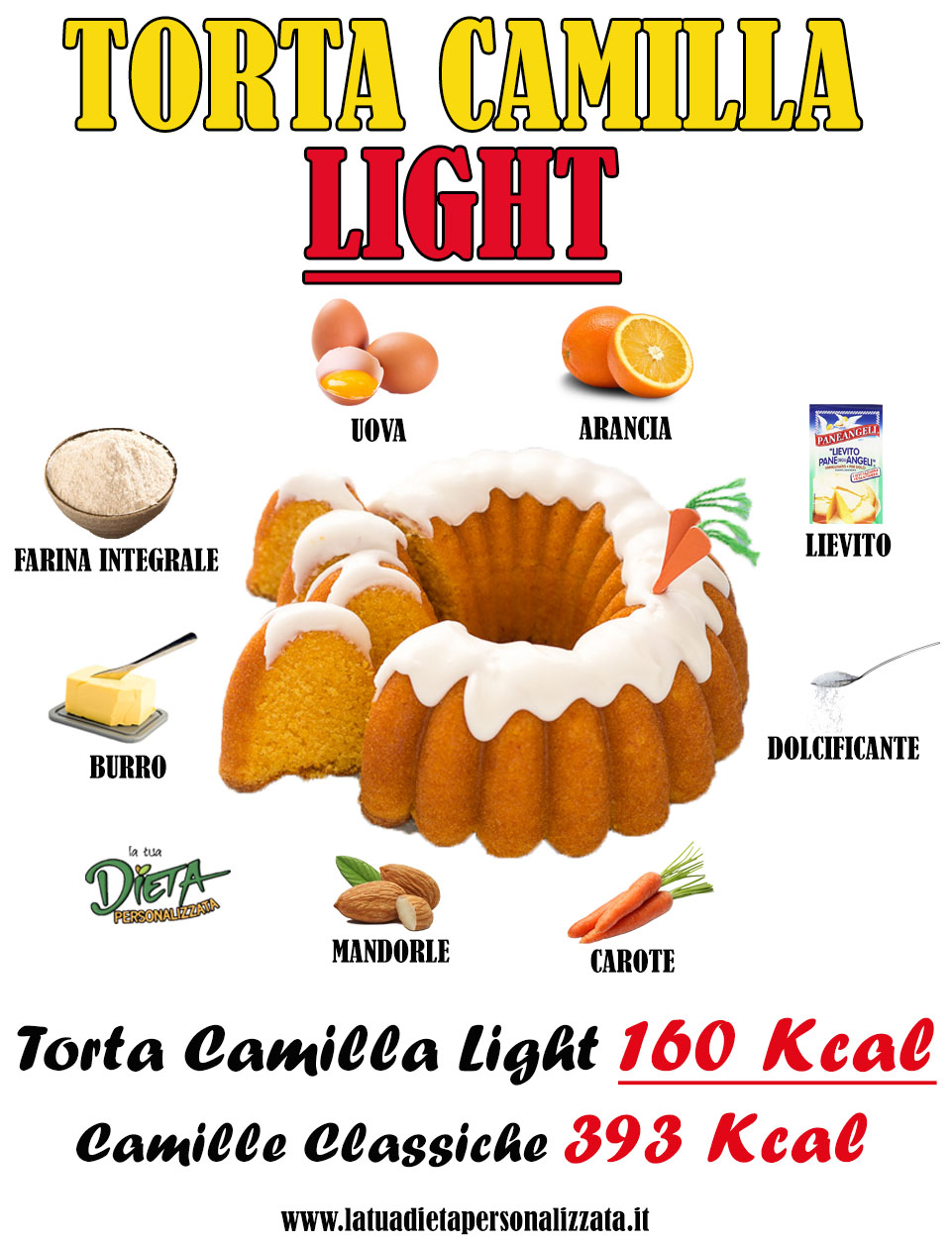 torta camilla light