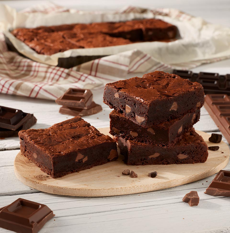 Brownies al cioccolato: La ricetta light e gustosa con 370 Kcal!