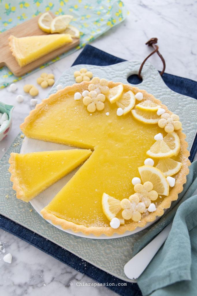Crostata al limone: La ricetta Light di sole 250 Kcal!