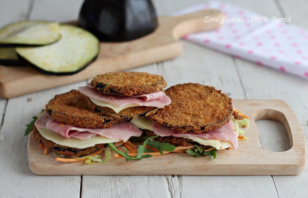 Sandwich di melanzane: La Ricetta Light di 160 Kcal!