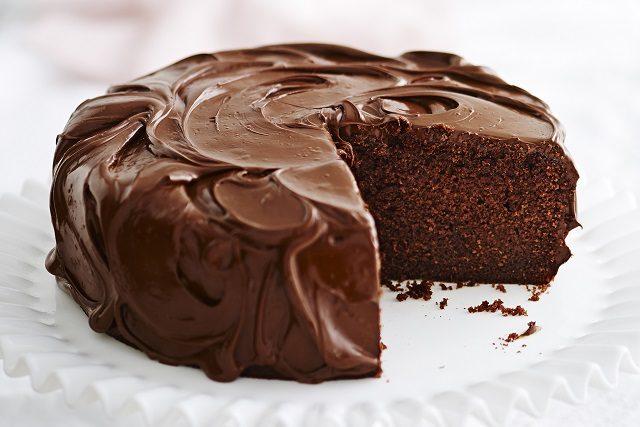 Torta al cioccolato senza uova light
