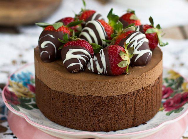 Torta al cioccolato Light con soli 2 ingredienti