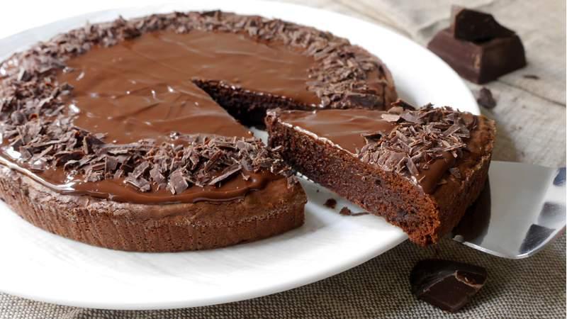 Torta al cioccolato senza farina: La ricetta light di 260 Kcal!