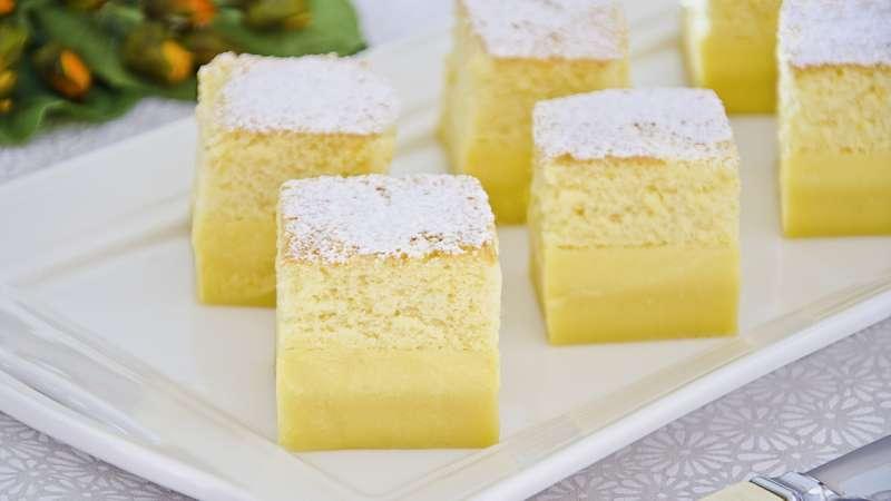 Torta magica senza burro: la ricetta light di 220 Kcal!