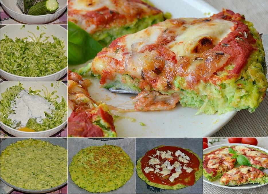 Pizza di zucchine: la ricetta light di 340 Kcal per chi è a dieta!