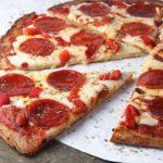 Pizza senza lievito e farina