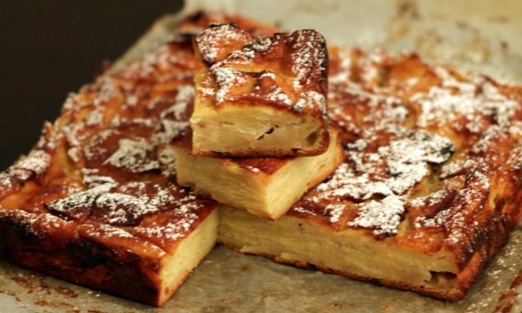 La torta alle mele cremosa: un dolce super gustoso e leggero di 105 calorie per chi è a dieta!
