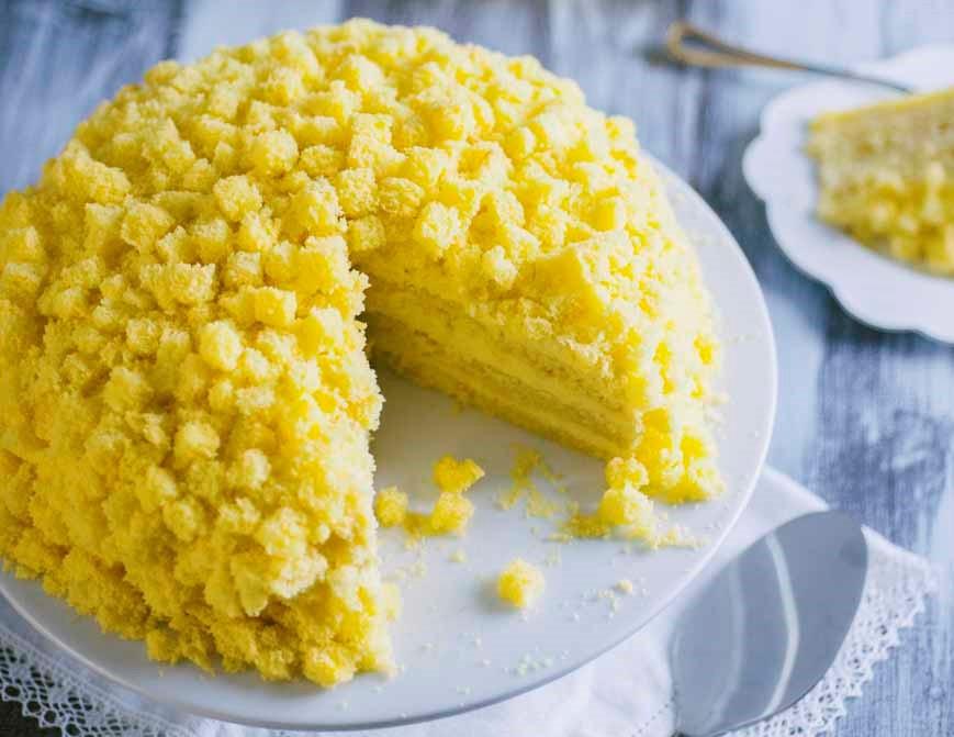 Torta Mimosa: la ricetta light di sole 110 Kcal per la festa della donna!