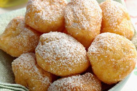 Castagnole Al Forno Alla Vaniglia Light 45 Calorie L Una