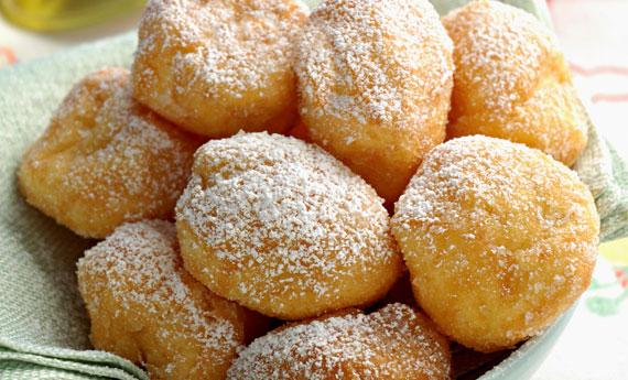 Castagnole al forno alla vaniglia light (45 calorie l'una)!