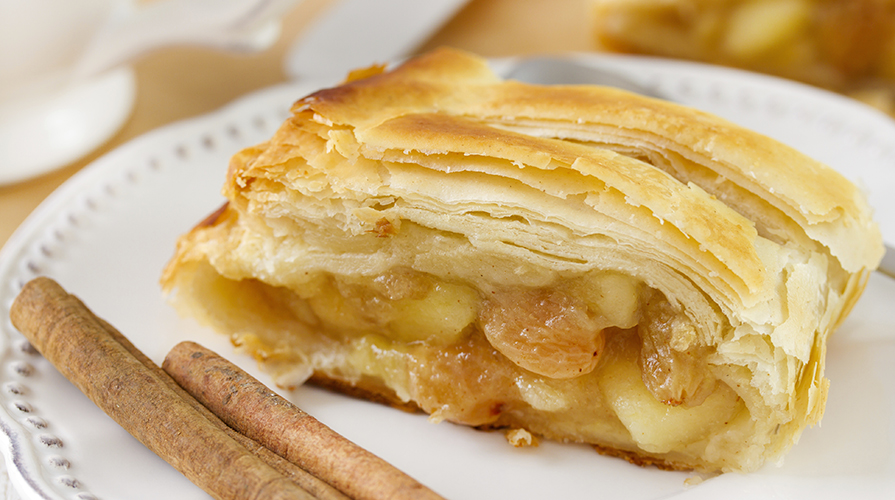 Strudel di mele: la ricetta light di 240 Kcal da fare subito!