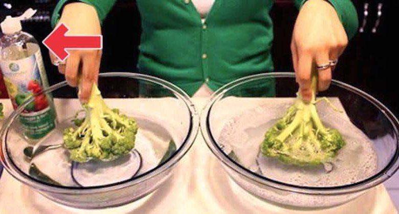 Come eliminare i pesticidi da frutta e verdura e altre sostanze tossiche