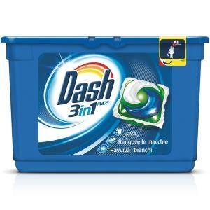 Allarme detersivi liquidi e capsule: Dash