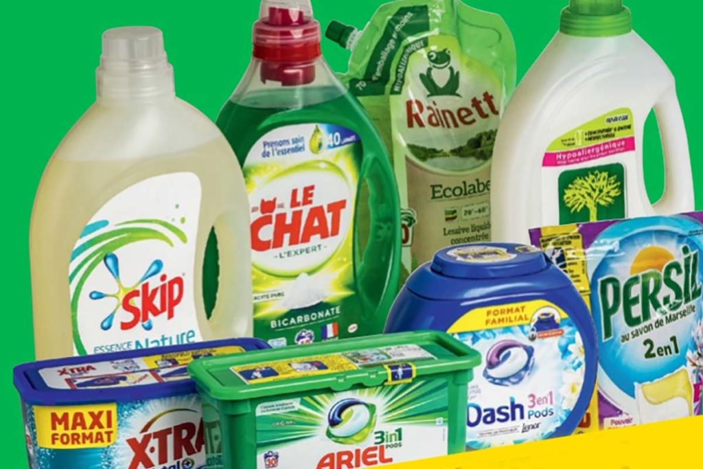 Allarme detersivi liquidi e capsule: Nocivi sulla pelle di grandi e bambini. Dash tra i peggiori!