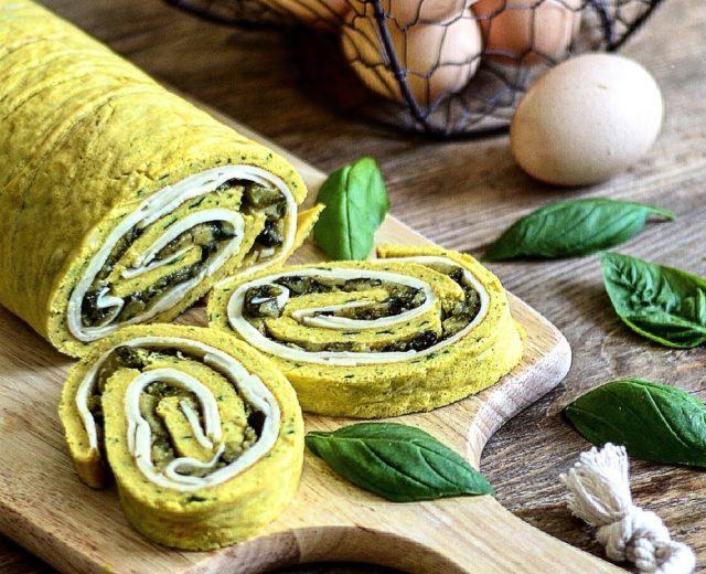 Antipasti veloci vegetariani: Rotolo salato