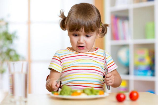 Dieta vegetariana nei bambini