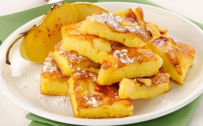 La frittata di mele dolce, una ricetta buonissima, veloce e dietetica con sole 100 calorie!