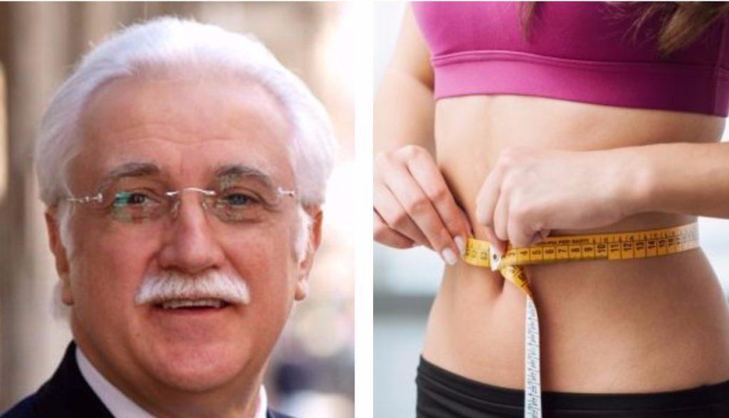 La dieta del dottor Calabrese: ecco come perdere una taglia in un mese