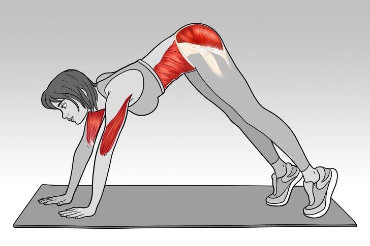 L'esercizio perfetto per tonificare addome, braccia e glutei in 5 minuti