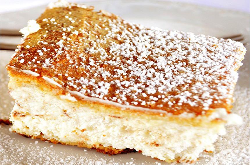 La torta morbida di ricotta di sole 160 calorie che farà impazzire tutti!