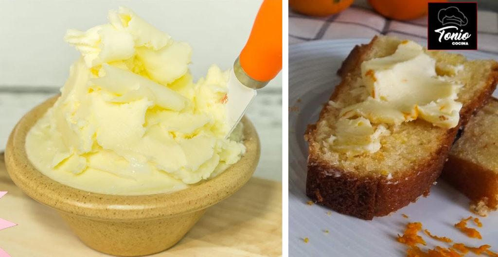 Burro fatto in casa con soli 2 ingredienti: veloce, facile e ha solo 160 calorie!