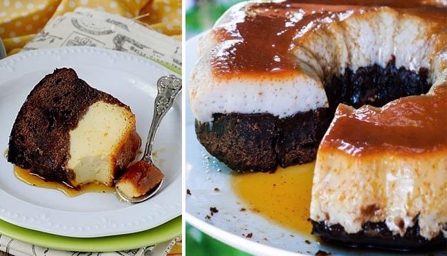Il chocoflan, la torta impossibile che ha fatto impazzire tutti. Solo 170 calorie!