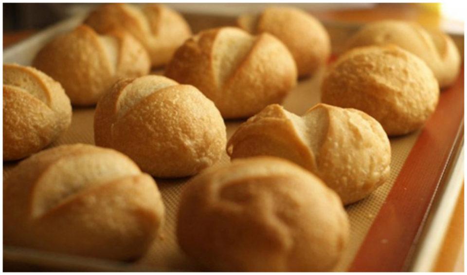 Le pagnottelle senza farina con sole 45 calorie e pronte in 5 minuti!
