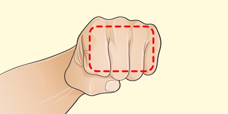 La dieta della mano: calcola la porzione giusta usando la tua mano per dimagrire senza sforzi!