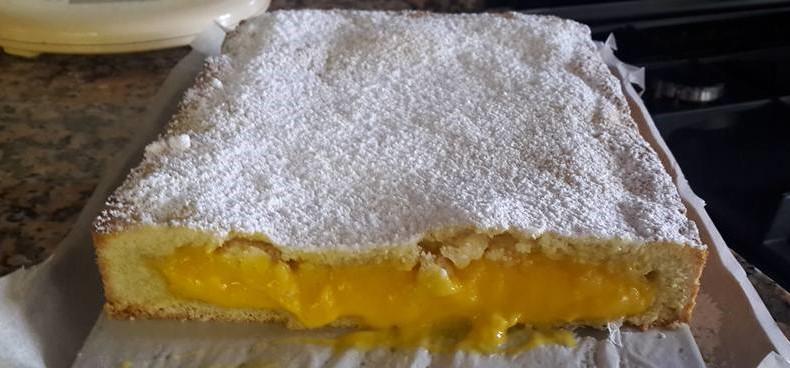 Torta all'arancia con crema pasticcera al limone: buonissima, fresca e ha solo 180 calorie!