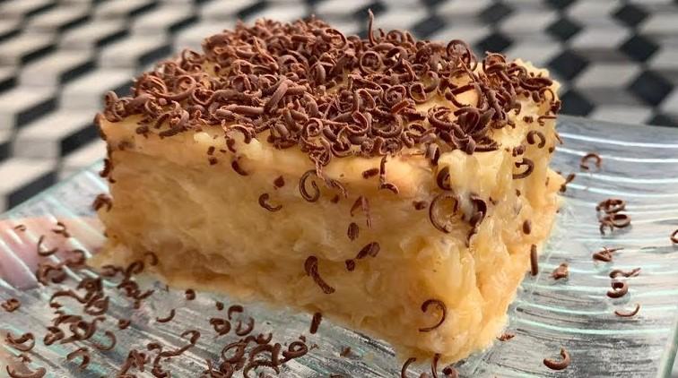 La torta di mele cremosa che non si cuoce: leggera, veloce e ha solo 200 calorie!