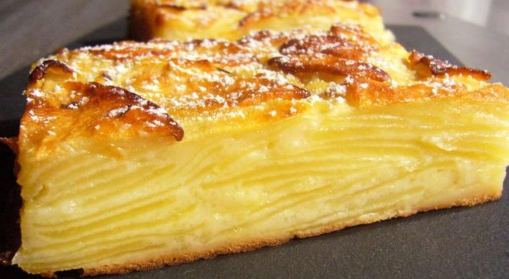 La torta invisibile alle mele con un ingrediente segreto, buona e con sole 160 calorie!