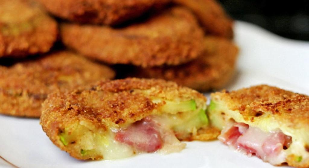 I cordon bleu di zucchine, una ricetta gustosa, veloce e leggera con sole 170 calorie!