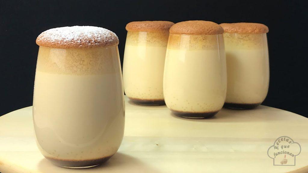 Il flan giapponese, un dolce al cucchiaio magico, cremoso e leggero. Solo 210 calorie!