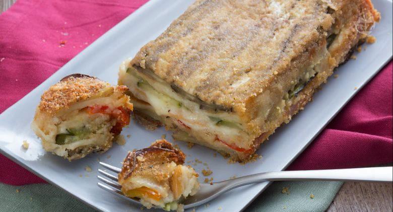 Lo sformato di verdure facile, gustoso e davvero leggero. Ha solo 310 calorie!
