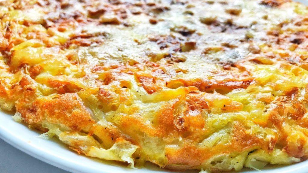 La torta di cavolo e uova, un piatto leggero e sano di sole 170 calorie!