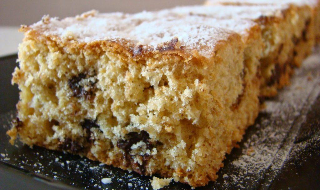 La torta al muesli e cioccolato: buonissima per colazione, soffice e ha solo 200 calorie!