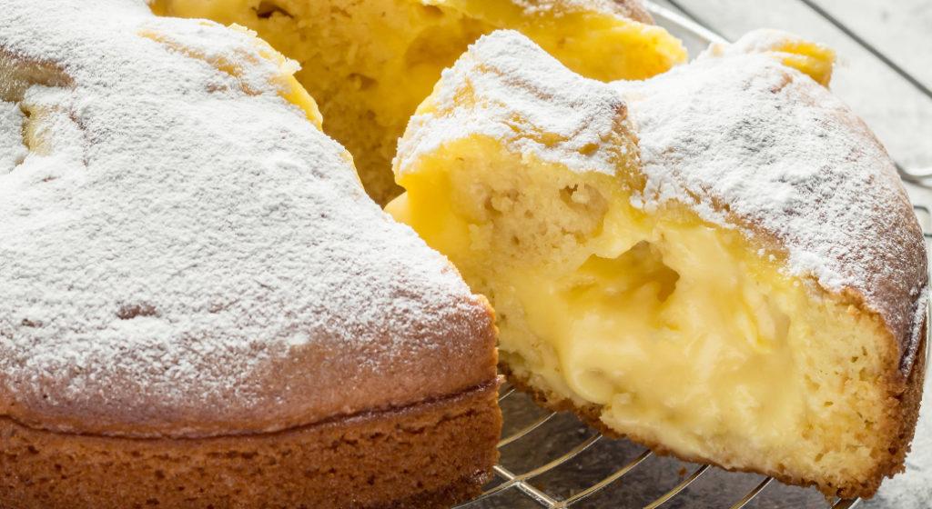 La torta Nua, un dolce super goloso, facile e veloce che ha solo 200 calorie!