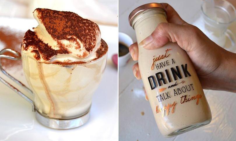 La crema di caffè in bottiglia spopola sul web: ha meno di 50 calorie al bicchierino!