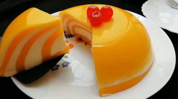 Dessert alla crema d'arancia e vaniglia, una bontà che delizierà tutti e ha solo 105 calorie!