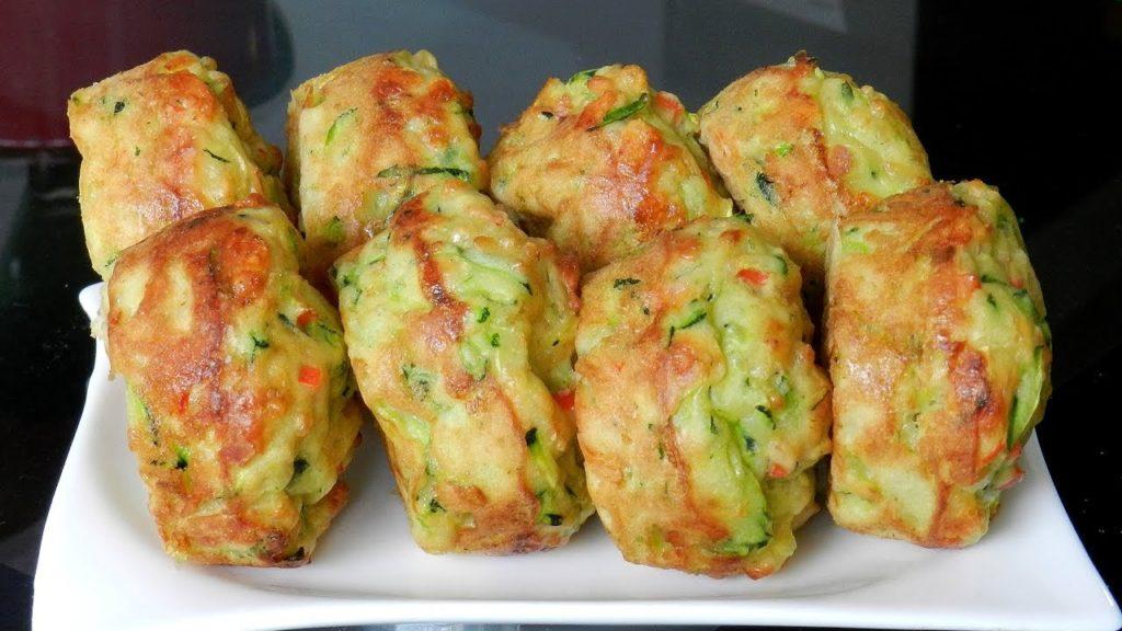 Muffins di zucchine e formaggio, un contorno buono e originale che ha solo 90 calorie!
