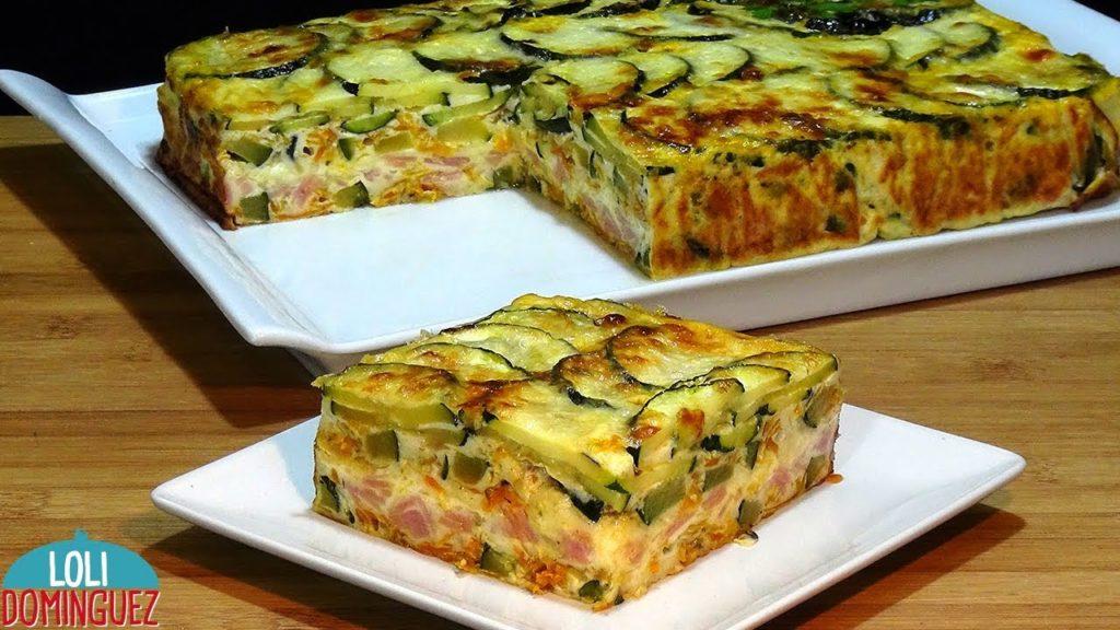 Il pasticcio di zucchine con prosciutto e formaggio, una ricetta golosa e con sole 180 calorie!