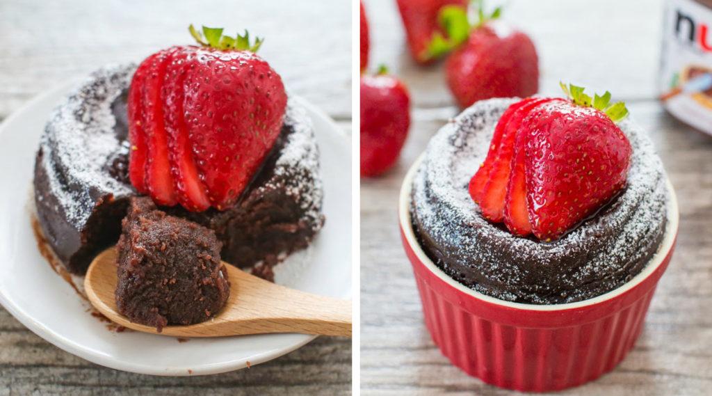 La torta in tazza senza farina, burro e zucchero: 2 ingredienti e pronta in 6 minuti!