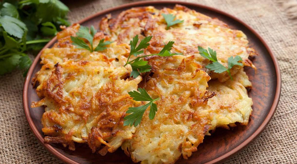Frittelle di patate al forno